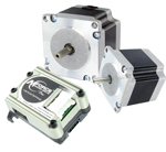 Rotary and linear stepper motors