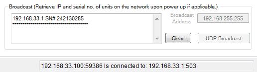 Ethernet Configuration Utility