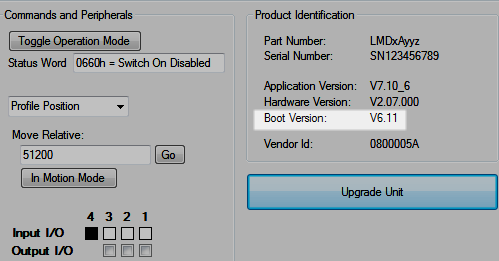 Lexium MDrive CANopen Configuration Utility